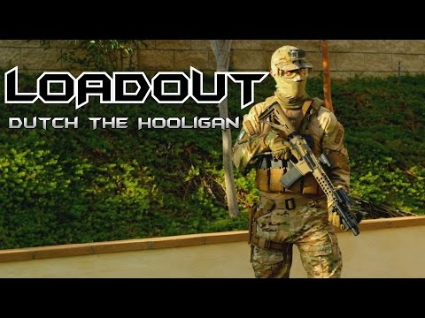 AIRSOFT LOADOUT (Gun, Gear) | Dutch The Hooligan