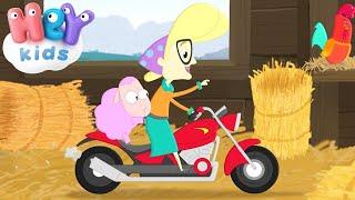 Meine Oma fährt im Hühnerstall Motorrad - Kinderlieder TV