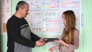 Вручение электронной книги в Автошколе Дорожная Азбука(, 2013-11-15T07:32:18.000Z)