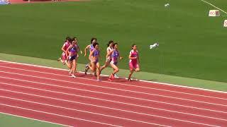 2018学生個人選手権陸上 女子800m 決勝 thumbnail