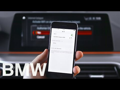 How to connect to your BMW's WiFi hotspot with iDrive 6 – BMW How-To