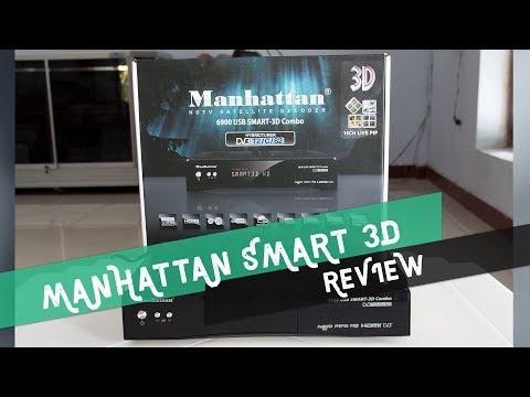 Receiver Manhattan 6900 USB smart 3D Combo