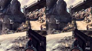 RAGE Xbox 360/PS3 Comparison