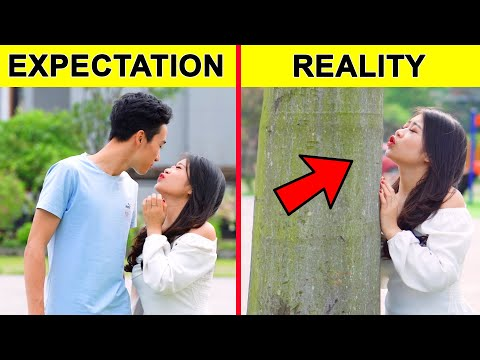 CLUMSY STRUGGLES WE ALL FACE | EXPECTATION VS REALITY | Funny Relatable Situations by GLASSES MEDIA