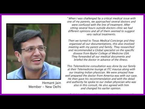 Texas Medical Concierge member testimonial for Second Opinion program