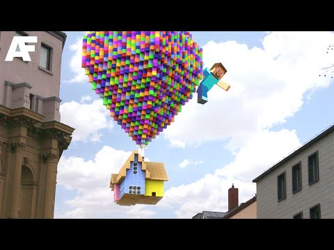 Minecraft Earth In REAL LIFE | 3D Animation