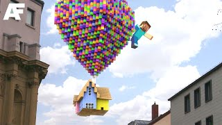 Minecraft in REAL LIFE | 3D Animation thumbnail