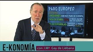 España, líder del paro en Europa
