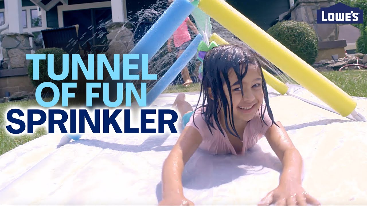 How To Build the Kids' Tunnel of Fun Sprinkler