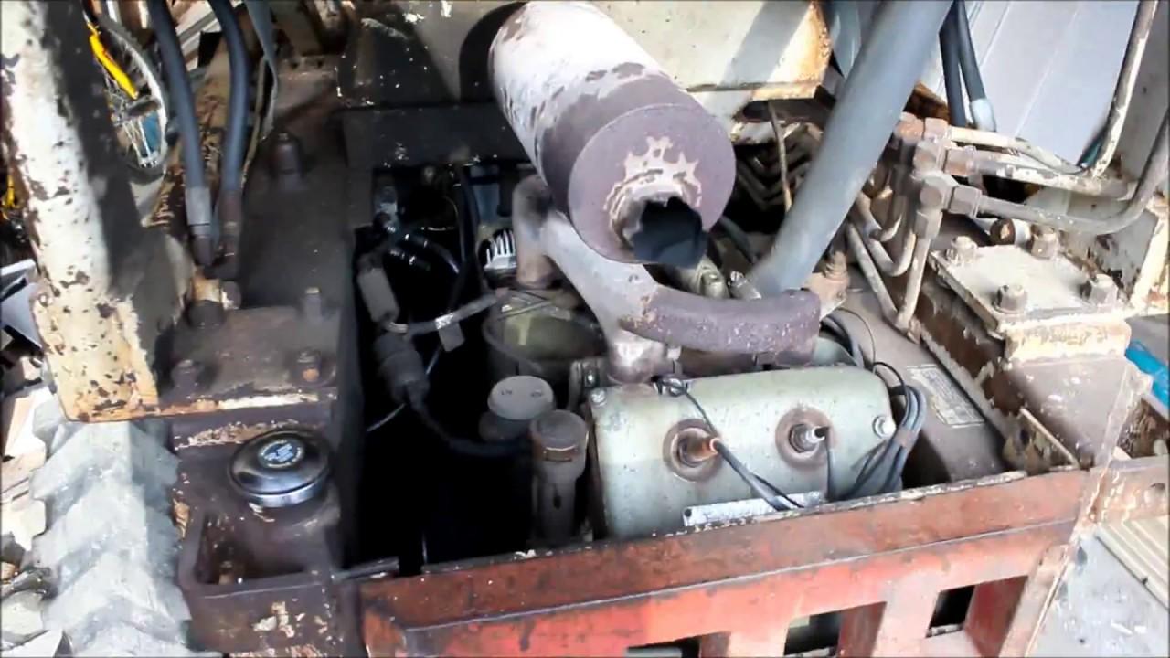 Old Start BobCat 610 1970s Skidsteer