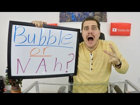 Stock Market at All time Highs! - Are we in a BIG BUBBLE?