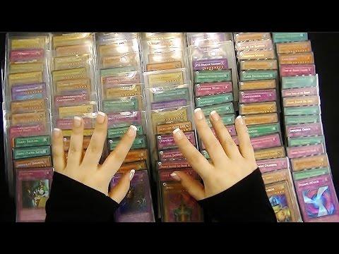 Binaural ASMR: Over 100 Holographic Yu-Gi-Oh Cards (Rare, Ultra Rare, Secret Rare)