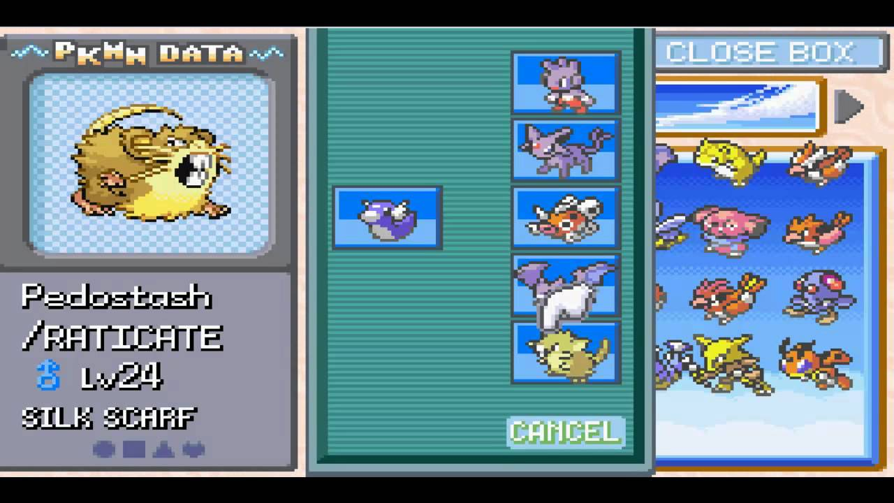 pokemon liquid crystal how to get mew