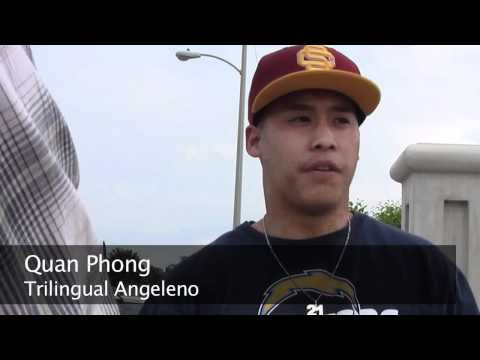 South LA locals on being bilingual