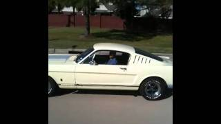 65 Mustang shelby side exhaust part 2