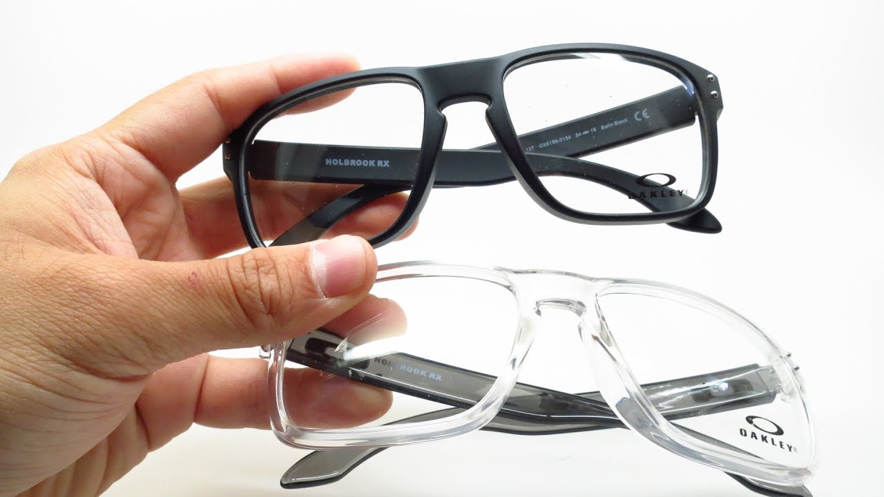 cf5df5d90e54 Oakley Holbrook RX OX8156 Eyeglasses Review & Unboxing - YouTube