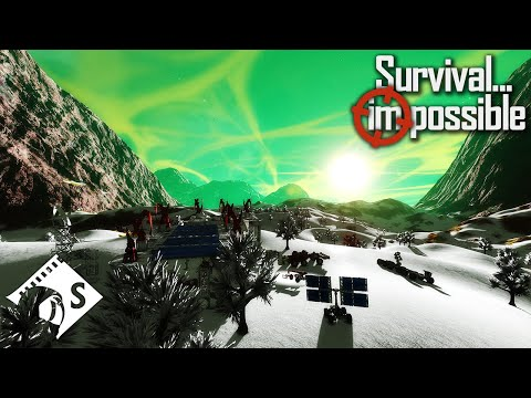 Survival Impossible - I Think I Need The O2 Warnings #21 - Space Engineers Hardcore Survival