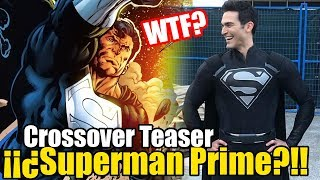 ¡¡¡SUPERMAN CON TRAJE NEGRO!!! ¿QUE SIGNIFICA? - The Flash/Supergirl Crossover TEASER