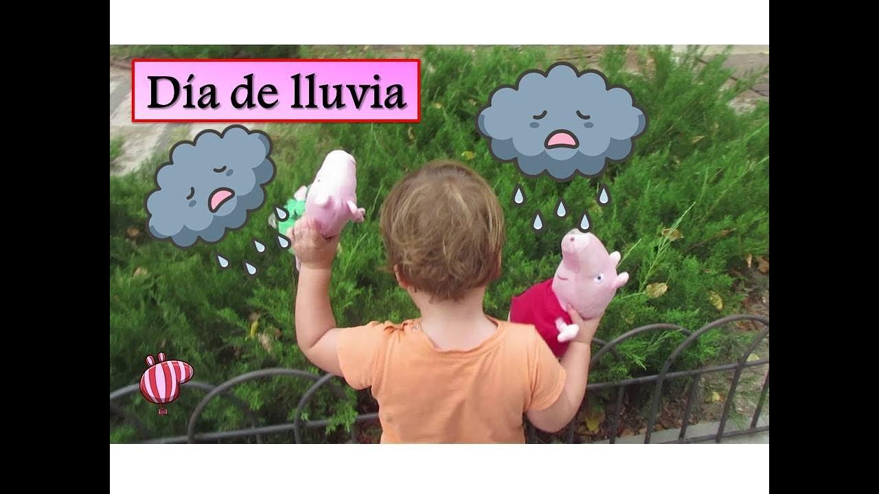 BEBÉ HUMANO y Peppa Pig en un día de lluvia en el parque   Vídeos de ...