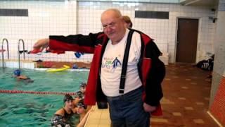 Тренировки по плаванию с Сошиным А.Я. и Позднышевой О.Ю. (2007)