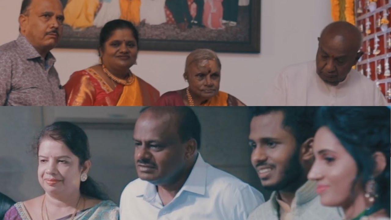 OFFICIAL WEDDING FILM | AMOGH & SRINITHYA | H D DEVEGOWDA FAMILY | SHYLAJA FAMILY | BANGALORE PALACE