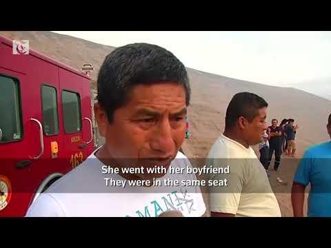 Peru bus crash leaves at least 36 dead