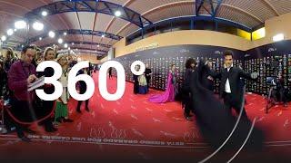 Antonio Najarro luce capa ante la cámara 360º | Alfombra roja Goya 2020