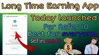 Today Launched Earning App For Android || best for Everyone || paytm money loot|| paytm hero