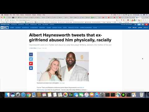 Albert Haynesworth And His Crocodile Tears