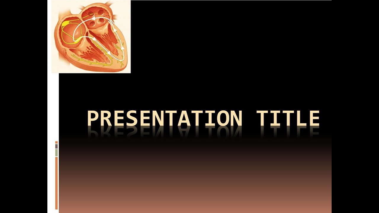 Free Cardiology Powerpoint Template Youtube