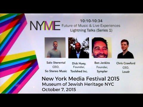 New York Media Festival 2015  - Lightning Talks (Series 1)
