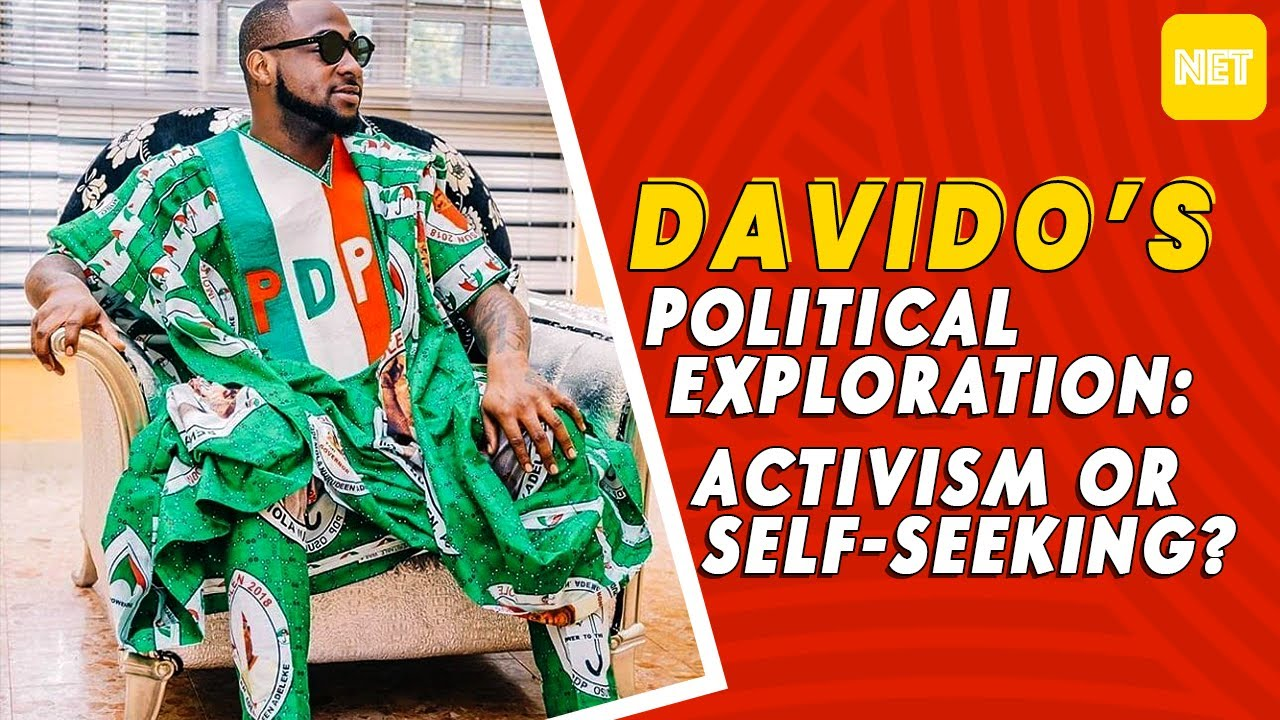 Davido's Political Exploration: Activism OR Self-Seeking? | Vibes With Victor
