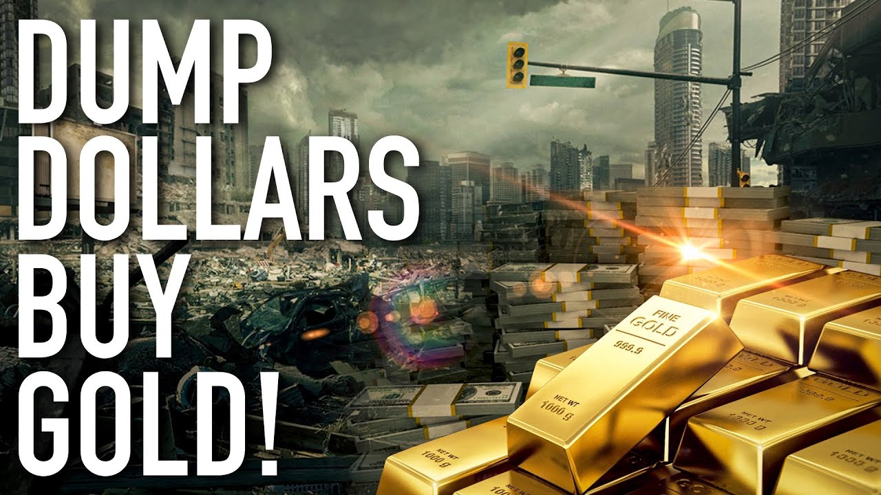 Dump Dollars, Buy Silver And Gold! We Destroyed The World's Greatest Economy For No Reason