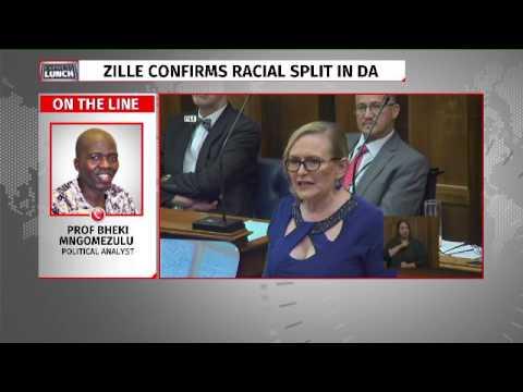 Helen Zille confirms DA racial bias post suspension