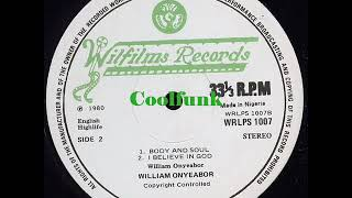 william onyeabor body soul funk 1980