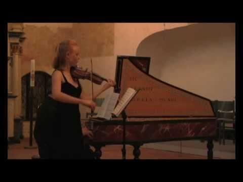 "Arcangelo Corelli ""La Follia"" Anna Markova und Dmitry Subow live"