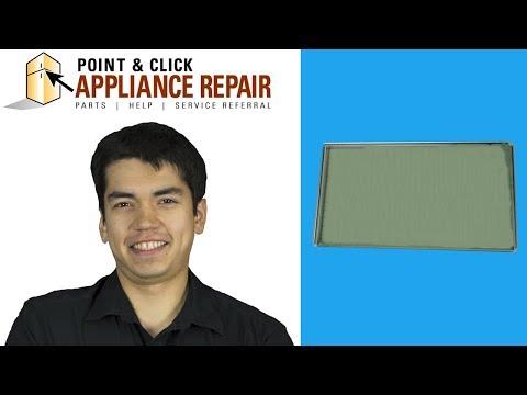 WB56X22160 - Replacing Your GE Oven's Inner Door Glass - AP5808937, PS9493039