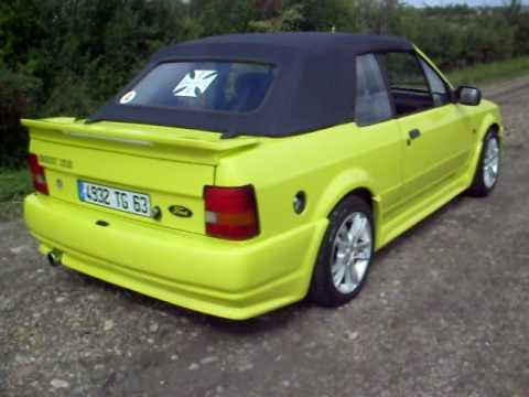ford escort xr3i cabriolet youtube. Black Bedroom Furniture Sets. Home Design Ideas