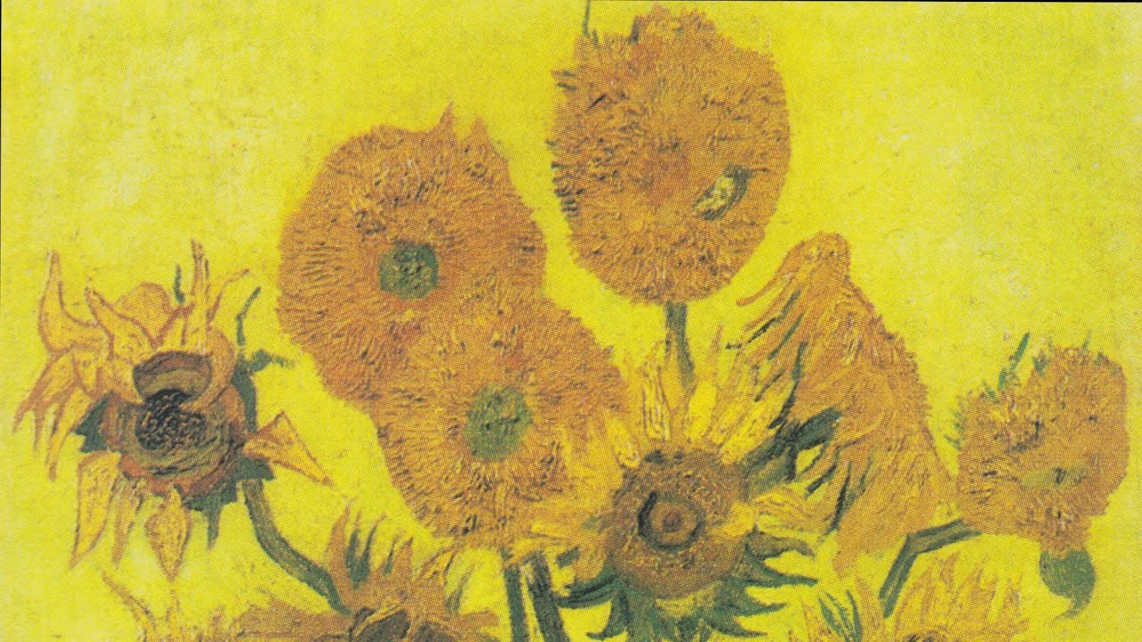 Matrimonio Girasoli Van Gogh : Vincent willem van gogh vaso con quindici girasoli