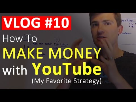 How To Make Money On YouTube (My TOP Strategy) - VLOG #10