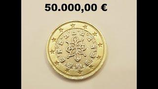 Diese 1 Euro Münze kostet 50.000,00€