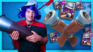 THE MUSKETEER CHALLENGE - CLASH ROYALE