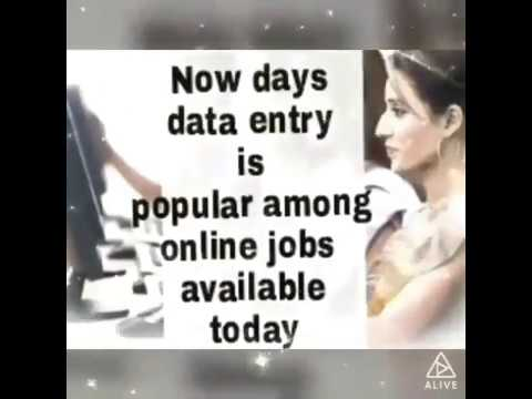Learn A to Z about Data entry jobs