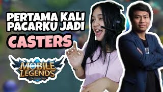 FEBY JADI SHOUT CASTERS DI TOURNAMENT BESAR !!! WKWKW TAPI BOONG - Mobile Legend Indonesia