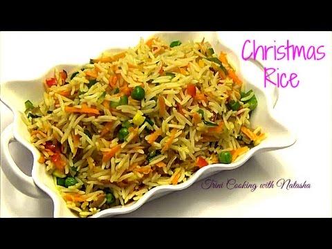 how to make christmas rice episode 298 youtube - Christmas Rice