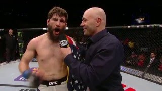 fight night new jersey bryan barberena octagon interview