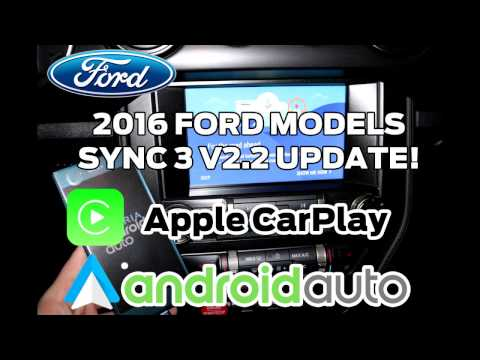 2016 Ford Models SYNC 3 v2.2 Update Tutorial