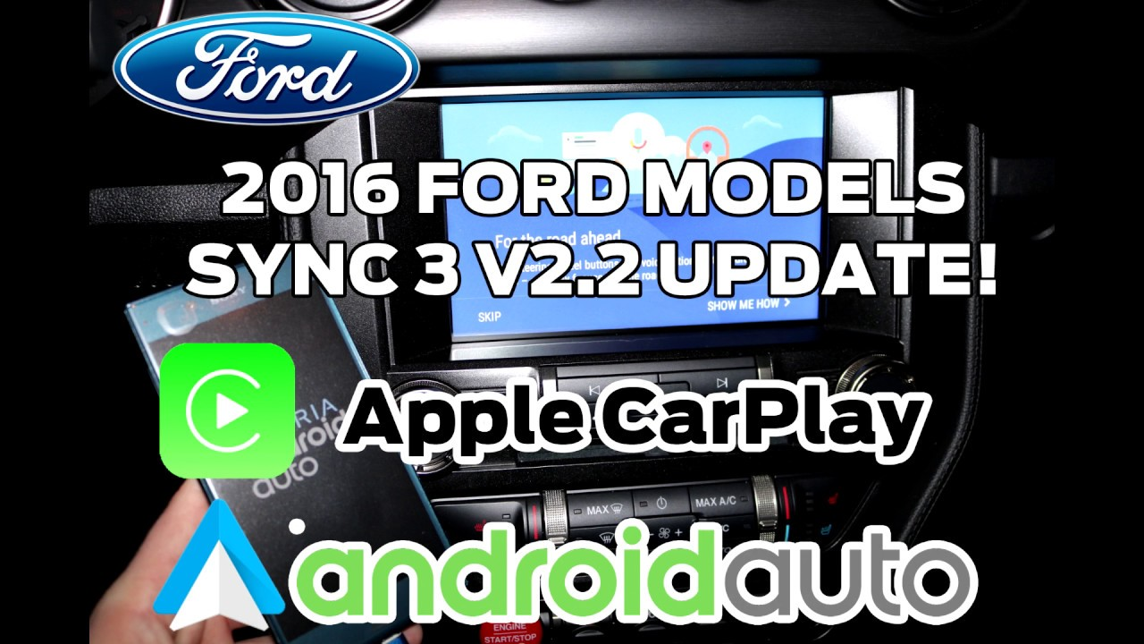 2016 ford models sync 3 v2 2 update tutorial youtube. Black Bedroom Furniture Sets. Home Design Ideas