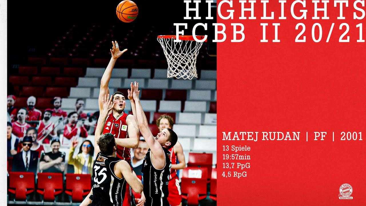 Highlights Matej Rudan // FCBB II ProB 2020/21