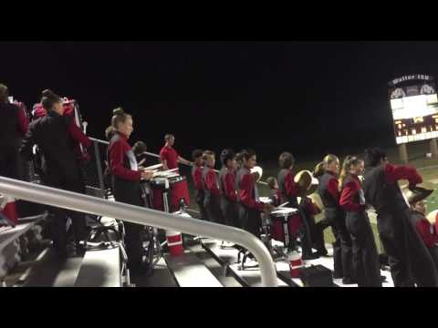 Tomball High School Band 2016 - Drum Cadence - Streetbeat 2016